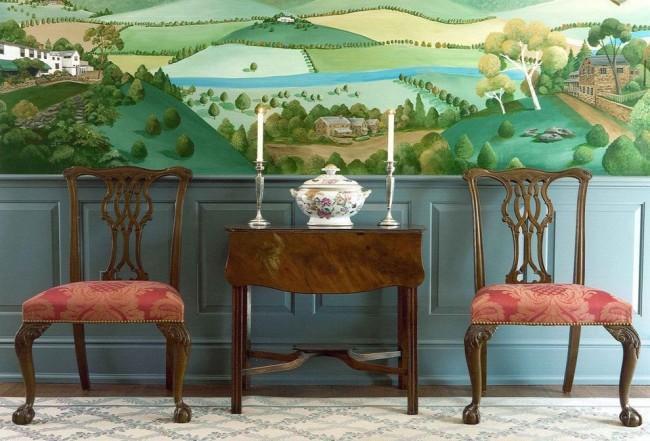 В современном мире фреска на стене – это и дань высокому искусству