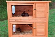 Фото 19 Клетки для кроликов своими руками (48 фото): как создать комфорт ушастым питомцам
