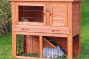 Фото 31 Клетки для кроликов своими руками (48 фото): как создать комфорт ушастым питомцам