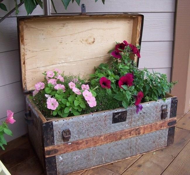 Сундук с цветочными сокровищами