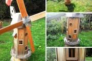 Фото 25 Мельница своими руками для сада (46 фото): детали конструкции и этапы сборки