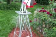 Фото 18 Мельница своими руками для сада (46 фото): детали конструкции и этапы сборки