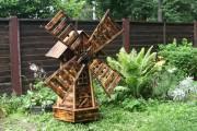 Фото 26 Мельница своими руками для сада (46 фото): детали конструкции и этапы сборки