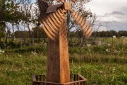 Фото 14 Мельница своими руками для сада (46 фото): детали конструкции и этапы сборки