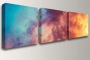 Фото 3 Модульные картины (75 фото): креативное искусство в современном интерьере