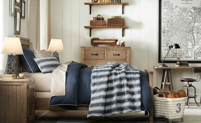 Стильная односпальная кровать подростка