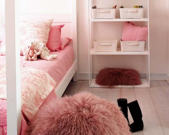 Детская односпальная кровать для девочки
