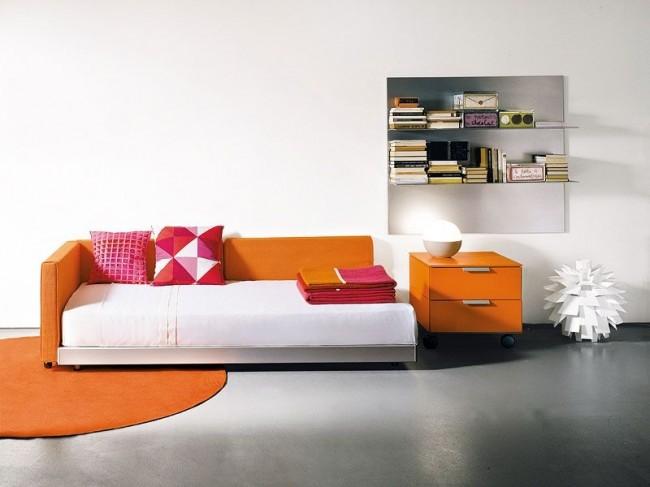 Односпальные кровати с ортопедическими ламелями постепенно вытесняют кровати с металлическими решетками и пружинами