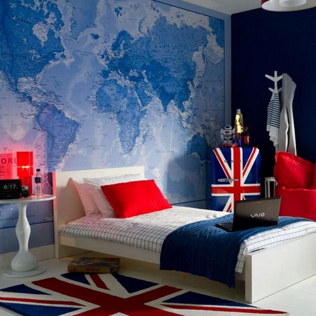 Кровать с двумя опорными спинками и двумя боковыми панелями