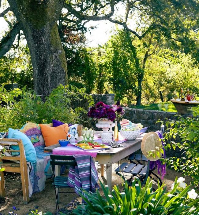 Цветы и растения станут отличным дополнением вашего уютного уголка