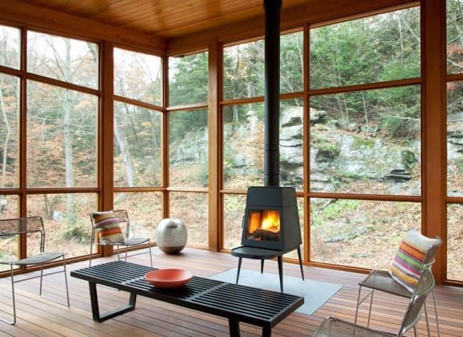 Длительное горение сокращает количество времени и хлопот о поддержке огня в печи