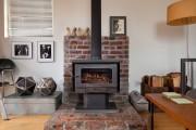 Фото 15 Печь-камин для дачи длительного горения (38 фото): виды, особенности работы, плюсы и минусы