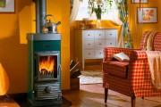 Фото 11 Печь-камин для дачи длительного горения (38 фото): виды, особенности работы, плюсы и минусы