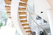 Фото 2 Перила для лестницы (57 фото): удобно, безопасно и привлекательно
