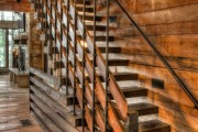 Фото 31 Перила для лестницы (57 фото): удобно, безопасно и привлекательно