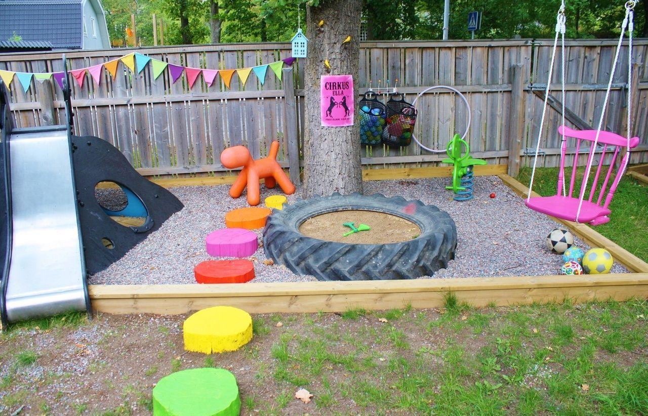 Детскую площадку построить своими руками 85