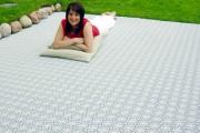 Фото 10 Пластиковая плитка для дорожек на даче (41 фото): экономичное и мобильное покрытие