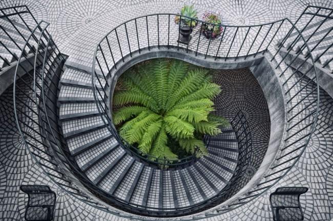 Плитка для лестницы должна быть не только красивой, но и безопасной
