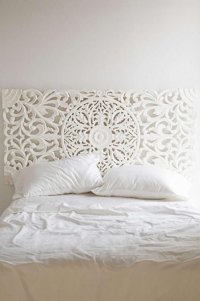 Ажурная спинка кровати
