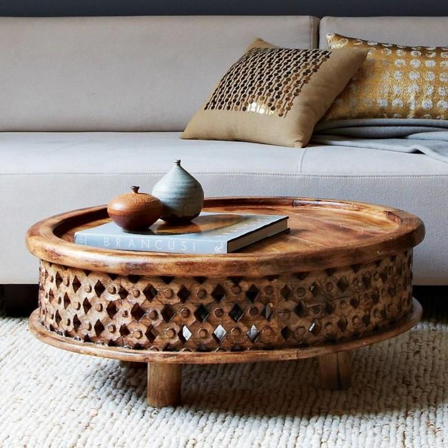 Мебель ручной работы поражает великолепием внешнего вида
