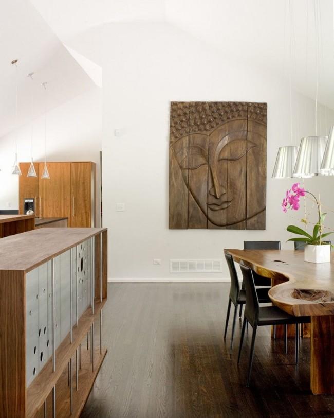 Для сохранности деревянного декора необходимо поддерживать оптимальный режим влажности