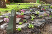 Фото 24 Рокарий (48 фото): растительно-каменный тандем на плоской поверхности