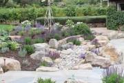 Фото 6 Рокарий (48 фото): растительно-каменный тандем на плоской поверхности