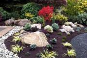 Фото 20 Рокарий (48 фото): растительно-каменный тандем на плоской поверхности