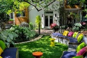 Фото 8 Садовая мебель своими руками — удачные самоделки (58 фото)