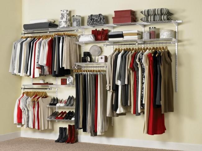 Сотовые гардеробные набирают все большую популярность в силу своей низкой стоимости и функциональности