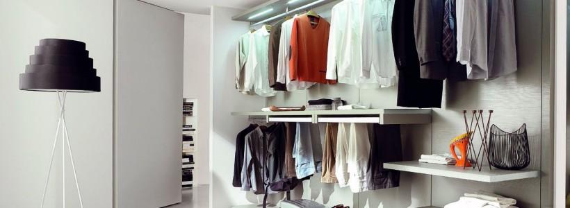 системы хранения вещей для гардеробных