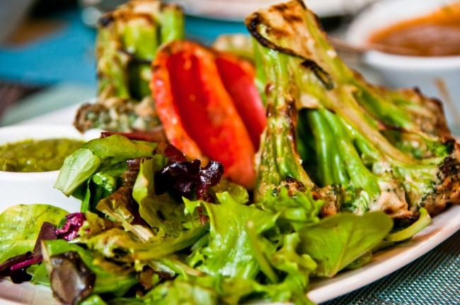 Овощи приготовленные в тандыре