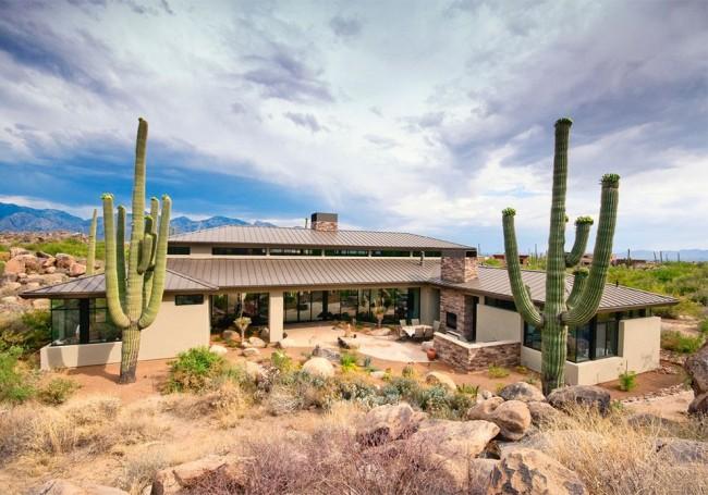 Тип крыши должен соответствовать общему архитектурному решению здания