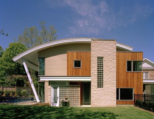 Красивая крыша - визитная карточка частного дома