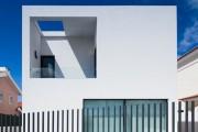 Фото 6 Заборы из металлического штакетника (44 фото): дачная классика в современной интерпретации