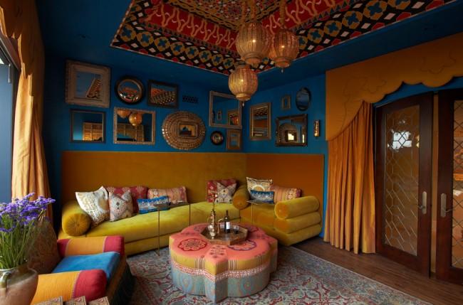 Стиль кальянной должен гармонично вписываться в общий интерьер помещения, будь-то ресторан, бар, клуб или квартира