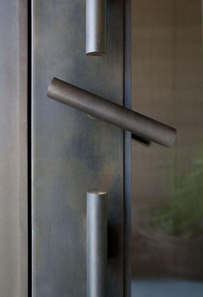 Дверные ручки для межкомнатных дверей. Необычная конструкция рычага дверной ручки