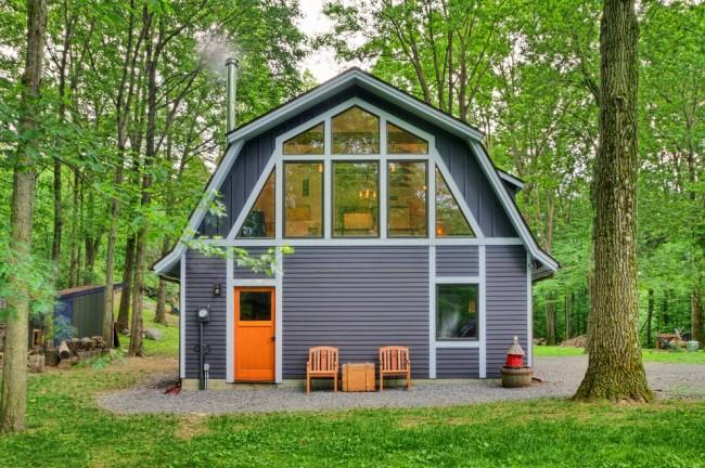 Пример качественной покраски деревянного дома