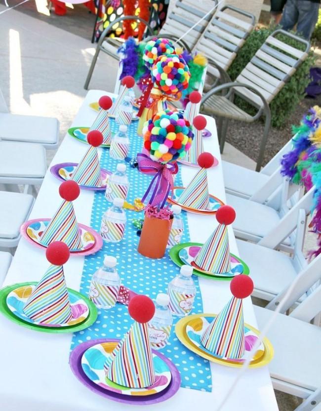 Как создать домашний топиарий. Деревца из разноцветного плюша как часть декора детского праздника