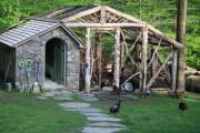 Фото 21 Курятник своими руками (80+ идей для постройки): выбор конструкции и материалов