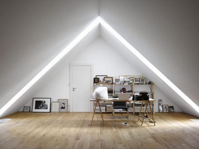 Мансардный этаж: интерьер мечты (60 фото)