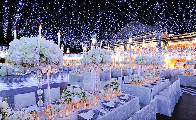 Оформление зала на свадьбу: создание сказочной атмосферы с помощью светодиодных гирлянд