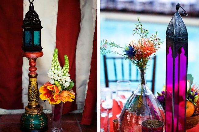 Оформление зала на свадьбу. Марокканская тематика свадьбы создаст экзотичную атмосферу