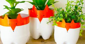 Поделки из пластиковых бутылок своими руками: лучшие идеи для хэндмейда фото