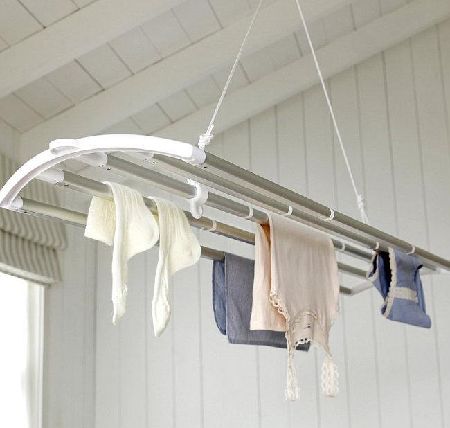 Сушилка для белья на балконе своими руками фото 215