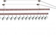 Фото 21 Потолочная сушилка для белья на балкон (45 фото): оптимальное решение бытовых вопросов