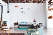 Фото 7 Потолочная сушилка для белья на балкон (45 фото): оптимальное решение бытовых вопросов