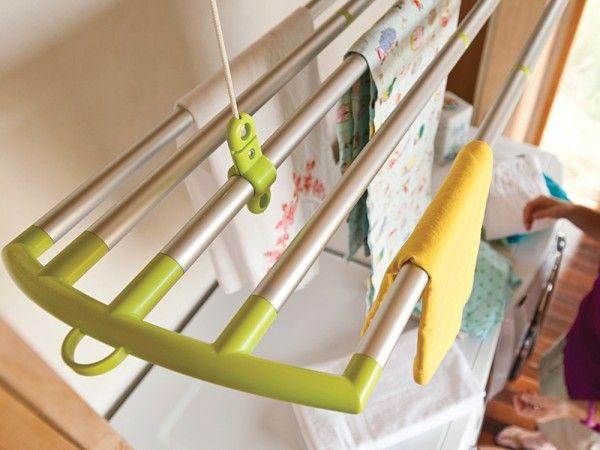 Потолочная сушилка для белья на балкон (45 фото): оптимально.