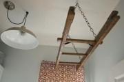 Фото 15 Потолочная сушилка для белья на балкон (45 фото): оптимальное решение бытовых вопросов