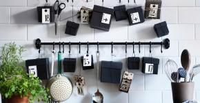 Рейлинги для кухни (50 фото): удобные «вешалки» для полезных мелочей фото